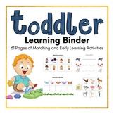 Toddler Learning Binder | Busy Binder for Toddler