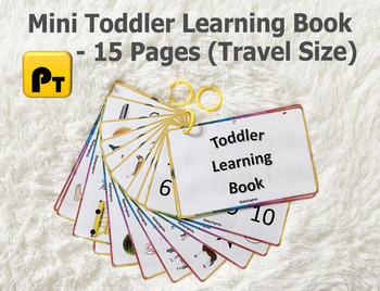 Toddler Learning Book, Baby's First Book
