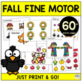 Fall Activities Toddler Learning Binder