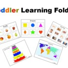 Toddler Learning Folder(Pre-School Prep)