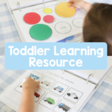 Toddler Learning Resource: Colors, Matching, Patterns, Shapes - UPDATED