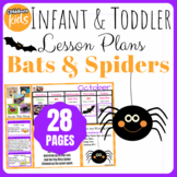 Toddler Lesson Plans- Bats and Spiders (One Week)