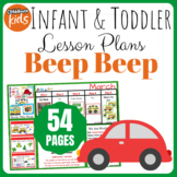 Toddler Lesson Plans- Beep Beep (One Week)