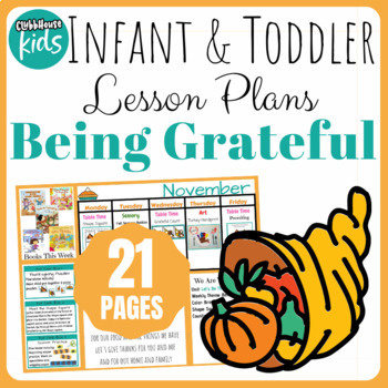 Toddler Lesson Plans- Being Grateful (One Week)
