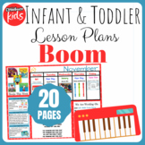 Toddler Lesson Plans- Boom (One Week)