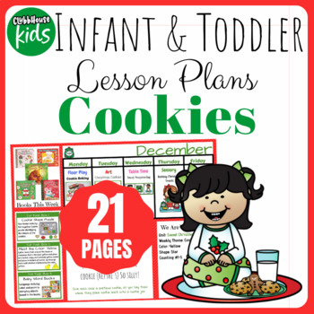 Toddler Lesson Plans- Cookies (One Week)