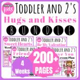 Toddler Lesson Plans- FEBRUARY BUNDLE