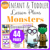 Toddler Lesson Plans- Ghosts, Mummies, Monsters, Oh My! (One Week)