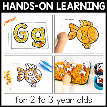 Toddler Lesson Plans - Goldfish Themed Lessons