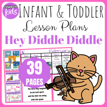 Toddler Lesson Plans- Hey Diddle Diddle (One Week)
