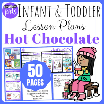 Toddler Lesson Plans- Hot Chocolate (One Week)
