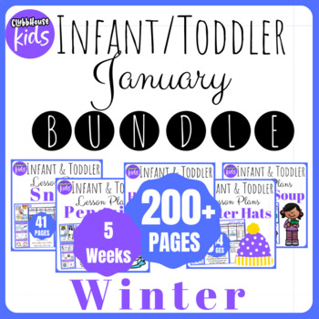 TODDLER LESSON PLANS JANUARY BUNDLE YEAR B