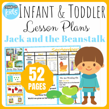 Toddler Lesson Plans- Jack and the Beanstalk (One Week)