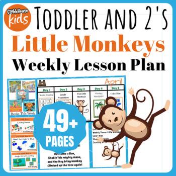 Toddler Lesson Plans- Little Monkeys (One Week)