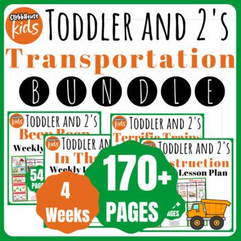 Toddler Lesson Plans- MARCH BUNDLE