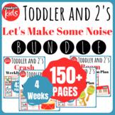 Toddler Lesson Plans- NOVEMBER BUNDLE
