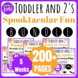 Toddler Lesson Plans- OCTOBER BUNDLE