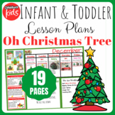 Toddler Lesson Plans- Oh Christmas Tree (One Week)