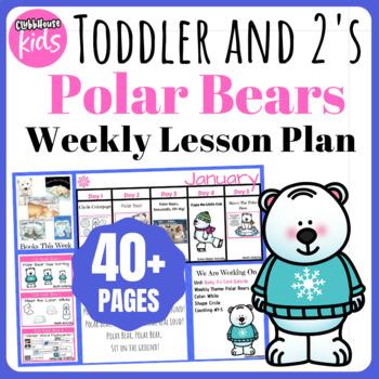 Toddler Lesson Plans- Polar Bears (One Week)
