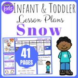 Toddler Lesson Plans- Snow (One Week)