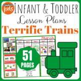 Toddler Lesson Plans- Terrific Trains (One Week)