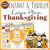 Toddler Lesson Plans- Thanksgiving (One Week)