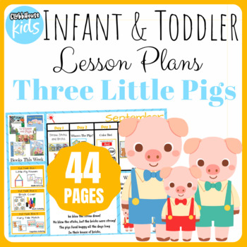 Toddler Lesson Plans- Three Little Pigs (One Week)