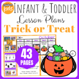 Toddler Lesson Plans- Trick or Treat (One Week)