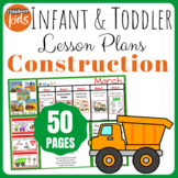 Toddler Lesson Plans- Under Construction (One Week)