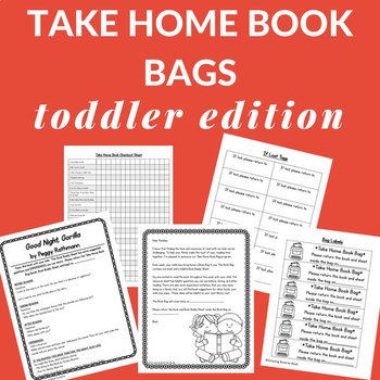 Toddler Literacy Bags