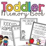 Toddler Memory Book and Portfolio