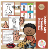 Toddler Mini 5 Senses Printable