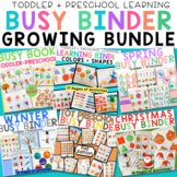 Toddler Preschool Busy Book Bundle of Learning