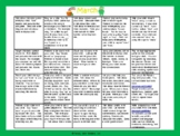 Toddler/Preschool Speech & Language Activity Calendar-March