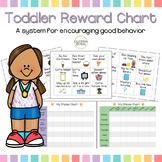 Toddler Behavior Chart and Reward Coupons