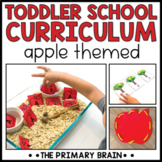 Toddler School Curriculum - Apple Themed Lessons