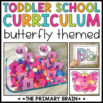 Toddler Lesson Plans - Butterfly Themed Lessons