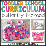Toddler School Lesson Plans   Butterfly Themed Curriculum Activities