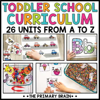 Toddler Lesson Plans - Toddler Curriculum Bundle