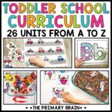 Toddler School Lesson Plans   Tot School Activities Curric