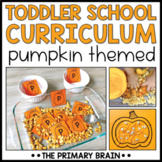 Toddler School Curriculum - Pumpkin Themed Lessons