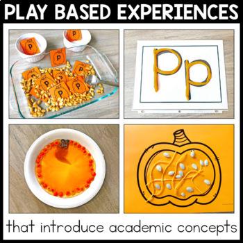 Toddler School Curriculum - Pumpkin Themed Lessons