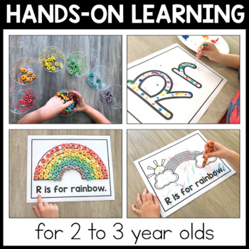 Toddler School Curriculum - Rainbow Themed Lessons