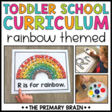 Toddler Lesson Plans - Rainbow Themed Lessons