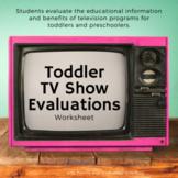 Toddler TV Show Evaluations (Child Development)