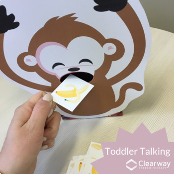 Toddler Talking  - Feed the Monkey