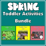 Toddler Time Learning Activities – Spring Bundle