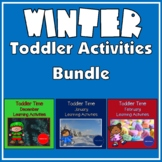 Toddler Time Learning Activities - Winter Bundle
