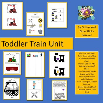 Toddler Train Pack