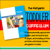 Toddler Curriculum plus Early Preschool With 59 Themes for the Year - 1600 pages